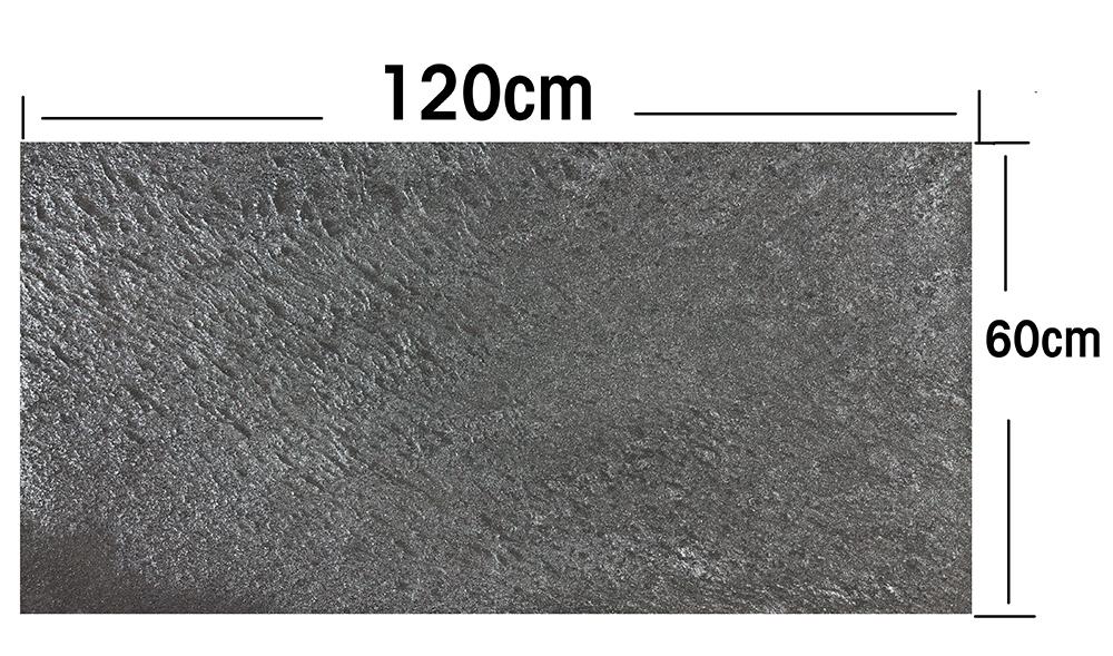 120x60cm platte anthrazit galaxy mehrschicht d nnschiefer naturstein wie tapete ebay. Black Bedroom Furniture Sets. Home Design Ideas