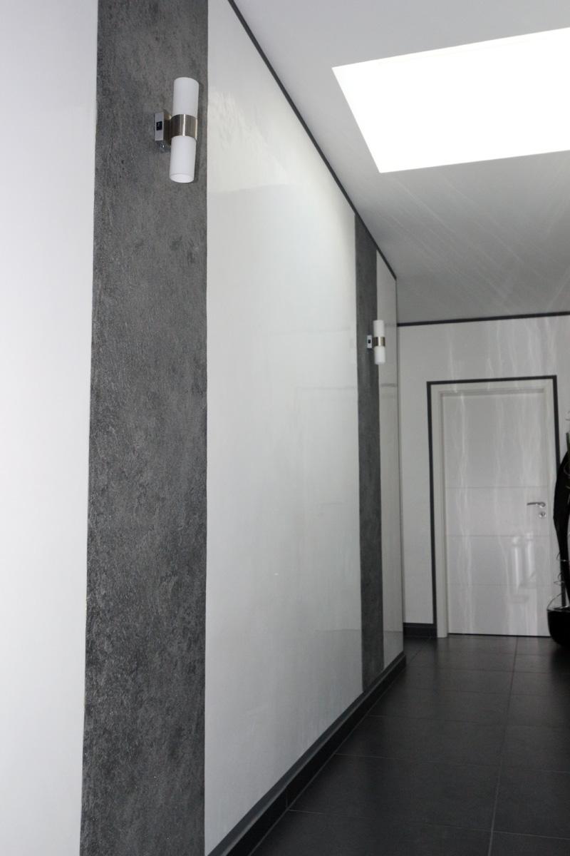 Naturstein Auf Tapete Kleben : WANDVERKLEIDUN G 240x120cm SCHIEFER PLATTEN TAPETE ECHTER NATURSTEIN